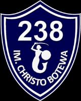 Tarcza Szkoły Podstawowej nr 238 im. Christo Botewa